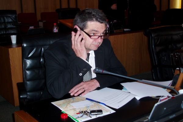 Alain Roussel, le président du « Pays d'Épinal Cœur des Vosges ». (Crédit Photo Bertrand Munier)