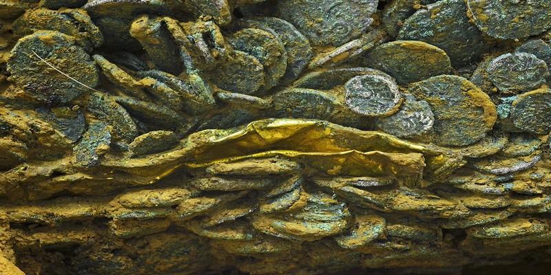 L'exposition présente un fabuleux trésor de quelque 70 000 pièces de la période gallo-romaine. (Crédit photo D.R.)