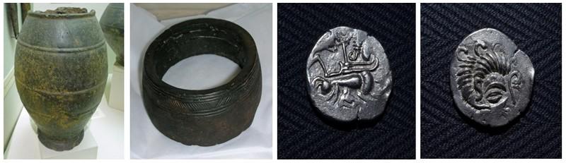L'exposition « Trésors celtes et romains » présentera  du 26 mai au 31 décembre au Musée de Jersey à Saint-Hélier, différents objets datant de l'époque de l'occupation de la Gaule par les Romains.(Crédit photo D.R.).