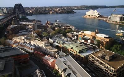 Vue d'ensemble sur la ville de Sydney en Australie (Crédit Photo Patrick Cros)
