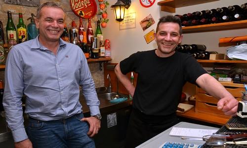 Les complices aux manettes du restaurant Le Potxolo Thierry Duval et Patrice Lepage (Crédit photo David Raynal)