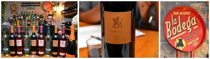 Une carte de vins Une carte des meilleurs vins espagnols, Rioja ou Navarre ou d'une sangria dont les épices se marient à ravir avec les tapas.(Crédit Photo David Raynal)