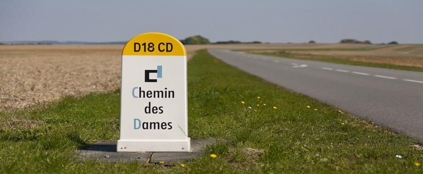 Entre les vallées de l'Aisne et celle de l'Ailette, l'assaut sanglant du Chemin des Dames fit en 1916 des milliers de morts (© DR)