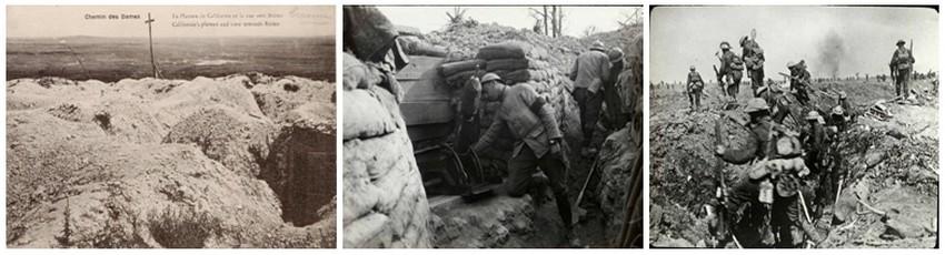 Le 16 avril 1917 à 6 heures du matin, l'offensive a lieu. Le soir même, l'échec est retentissant, les morts se comptent par centaines (© archives DR)