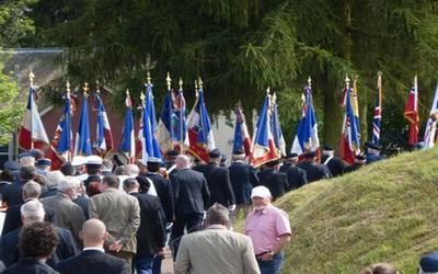 les Terre-Neuviens célèbrent aussi l'engagement de leur régiment au Mémorial de Beaumont-Hamel dans la Somme (© Catherine Gary)