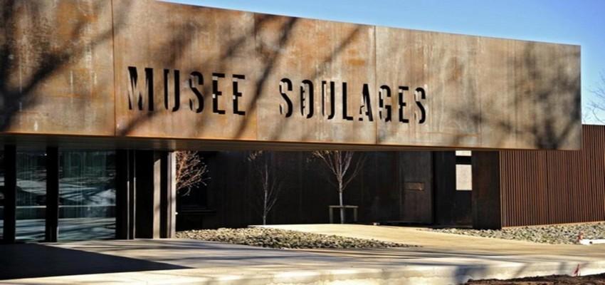Musée Soulages à Rodez, un évènement  qui va doper l'économie touristique de la région (© photo OT Rodez)