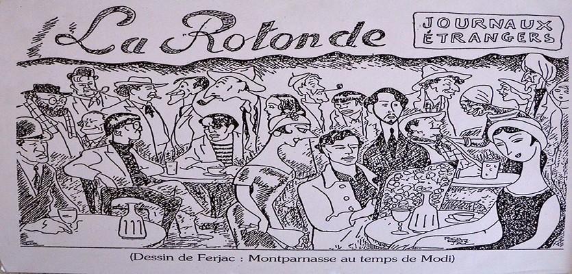 """Exposition consacrée à la """"période Montparnasse""""  jusqu'au 28 août à la Mairie du 6ème à Paris de quarante-quatre œuvres majeures, dont la plupart jamais vues, du travail trop méconnu de Maurice le Scouëzec l'ami de Modigliani, Clergé et Foujita, de Pascin et Zadkine.(Crédit Photo David Raynal)"""