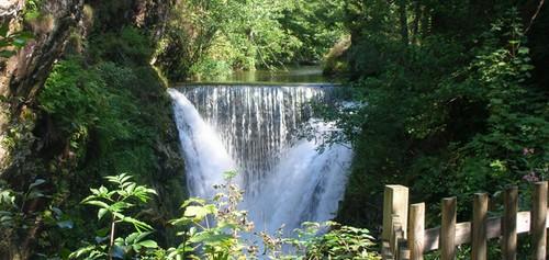 Sur la route de Lure (D486), le saut de l'Ognon, surprenante chute d'eau de 14 mètres (Crédit photo DR)