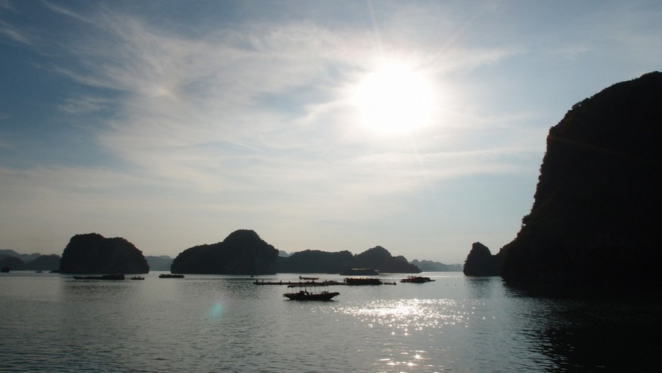 La baie d' Ha Long , un joyau inscrit au patrimoine de l'humanité (Crédit photo DR)