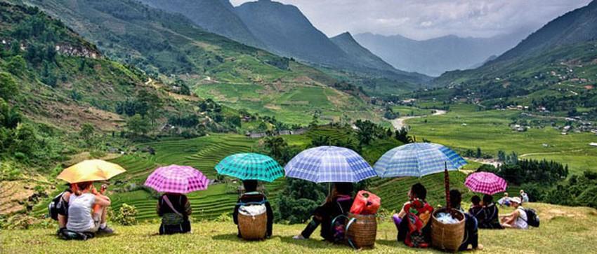 Dernier regard sur les montagnes de Sapa avant de repartir vers Hué (Crédit photo DR)