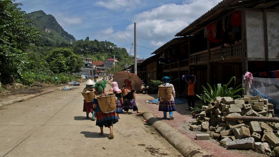 Les H'Mongs jouent un rôle particulier, un peu celui du fripon, dans la nouvelle société viêtnamienne telle qu'elle se manifeste dans ce territoire du nord-ouest. (Crédit photo DR)