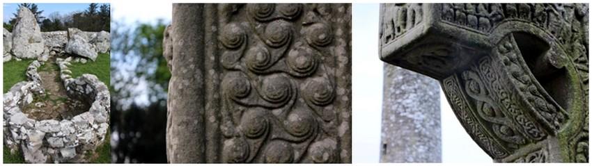 La Samain peut donc raisonnablement être considérée comme le jour de l'an celte, même si celui-ci n'a jamais été vraiment fixe. On le situe généralement entre le 25 octobre et le 20 novembre ce qui correspond au 6e jour de la lune montante.(Crédit photos - Irlande - David Raynal))
