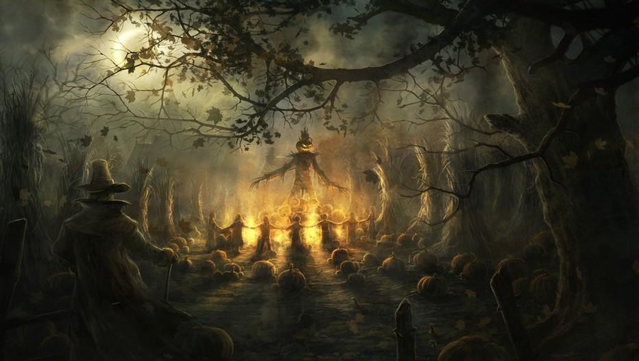 La légende irlandaise Jack O'Lantern raconte que Stingy Jack, un ivrogne notoire ne peut pas entrer au paradis car il est avare et qu'il ne peut pas non plus aller en enfer, car il s'est moqué du diable ! Jack n'a alors pas d'autre choix que celui de se promener avec sa lanterne tout autour du monde jusqu'au jour du jugement dernier.( Crédit photo DR)