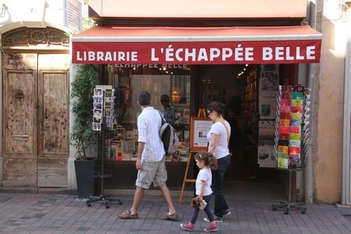 Une des librairies importantes de Sète (Crédit photo André Degon)