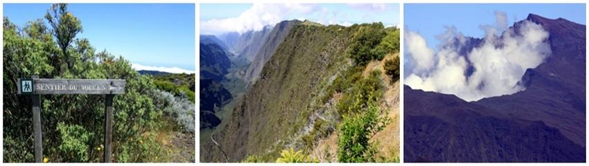 L'île volcanique de La Réunion a surgi du fond de l'océan Indien, il y a trois millions d'années. Le Piton de la Fournaise, un des volcans les plus actifs au monde, façonne le paysage de l'île et laisse un souvenir inoubliable au voyageur. (Crédit photos David Raynal)
