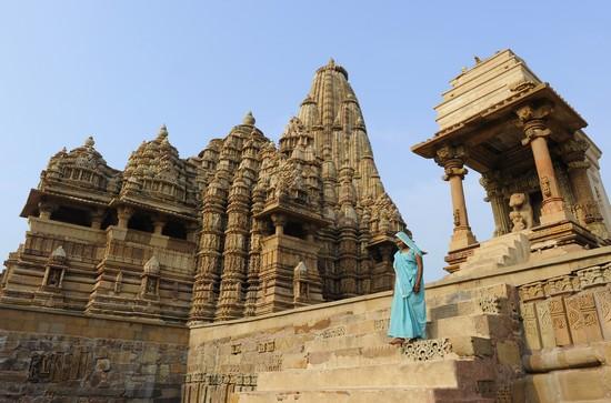 Khajuraho, temple Kandariya Mahadeva (Crédit photo Fabrice Dimier)