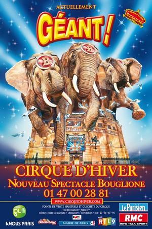 Sur la piste aux étoiles avec le Cirque d'Hiver Bouglione