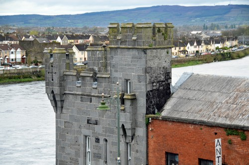 Vue sur la petite ville de Limerick en Irlande (Crédit photo David Raynal)