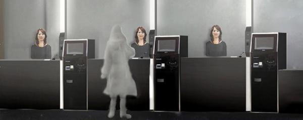 Nettoyage des chambres, service de portier, accueil des clients... le futur Hôtel Henn na situé au Sud-Ouest du Japon mise sur des robots.. Ouverture prévue en juillet 2015. (Crédit photo DR)