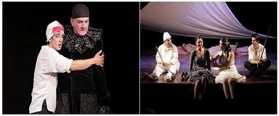 Les Fourberies de Scapin au Théâtre Michel par la Compagnie le Grenier de Babouchka ( ©2014 Le Grenier de Babouchka )