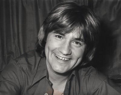 C. Jérôme, un chanteur extraordinaire au cœur tendre.(Crédit photo la collection personnelle d'Annette Dhôtel l'épouse de C. Jérôme.)