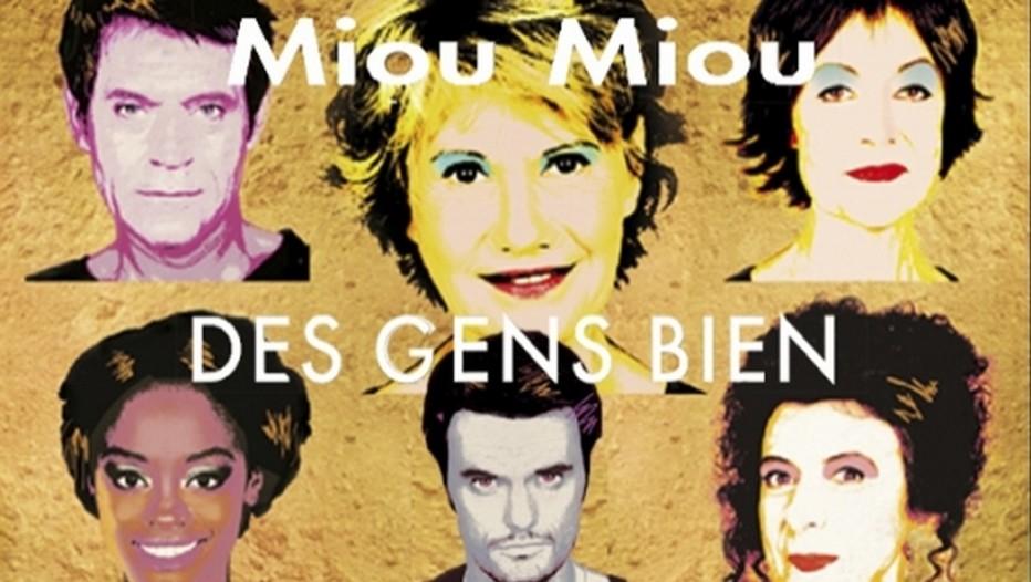 """Affiche des acteurs de la pièce """"Des Gens Bien""""  le jeu social de la réussite et de l'échec à l'Américaine. Actuellement au Théâtre Hébertot à Paris (Crédit photo DR)"""