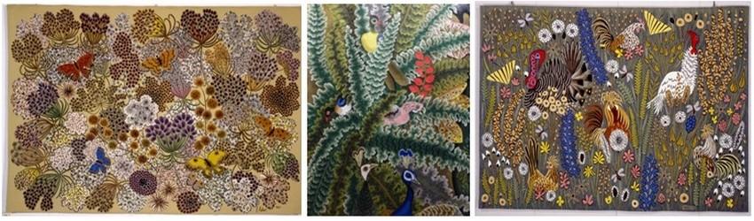Toute l'œuvre de Dom Robert est centrée sur la nature mise à nu. (Crédit photos Catherine Gary)