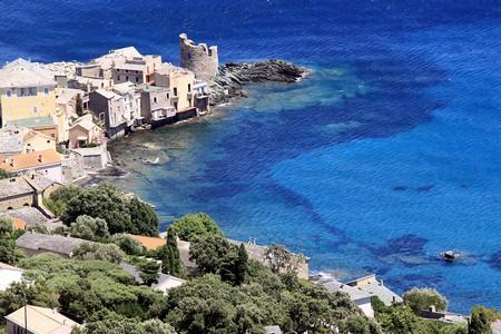Vue sur Erbalunga (Corse) - ( Crédit photo David Raynal)