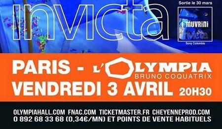 """Annonce du concert """"Invicta"""" du groupe I Muvrini (Crédit photo DR)"""