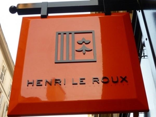 Logo de l'enseigne Henri Le Roux (Crédit photo DR)
