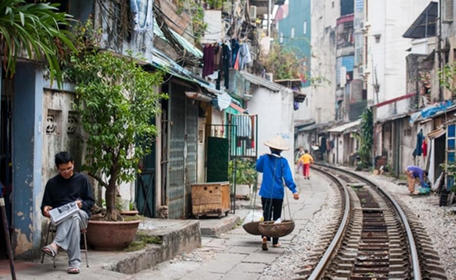 Scène d'une journée ordinaire dans un quartier populaire du nord Viêt Nam  (Crédit photo le Viêt Nam authentique)