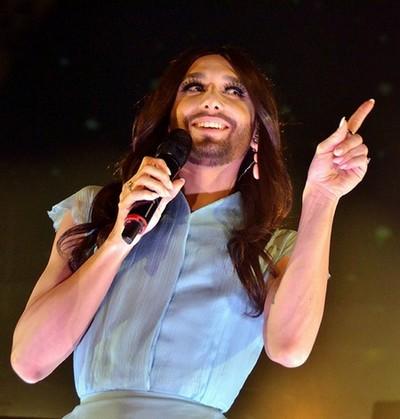 La désormais célèbre chanteuse autrichienne  Conchita Wurst (© David Raynal)