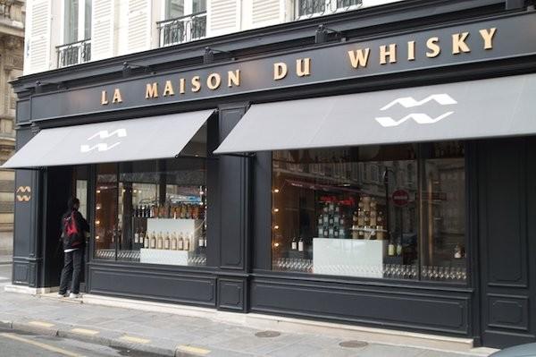 Située dans le 8ème arrondissement de Paris la célèbre Maison du Whisky (Crédit photo Thomas.F)