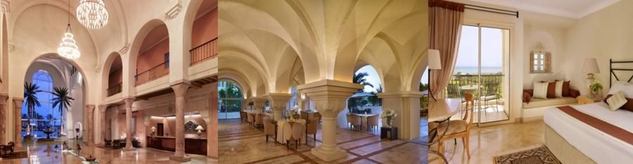 Elégance et architecture arabo-andalouse pour The Residence Tunis  situé non loin de Carthage (Crédit photos DR)