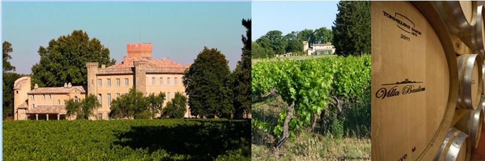 Le domaine de 300 hectares, de la Villa Beaulieu, poursuit aussi une tradition viticole et agricole ancestrale. (Crédit photo 1 DR) ( 2 et 3 crédit photos Yann Menguy)