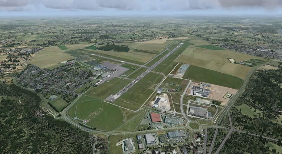 L'aéroport de Beauvais-Tillé, également dénommé commercialement Aéroport de Paris Beauvais, est un aéroport civil français, situé sur la commune de Tillé, à 2 km au nord-est de Beauvais et à environ 80 km de Paris.( © James Mitchell)