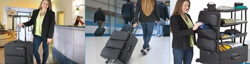 Elégant, voici le bagage idéal pour voyager pratique. (Crédit photos DR)