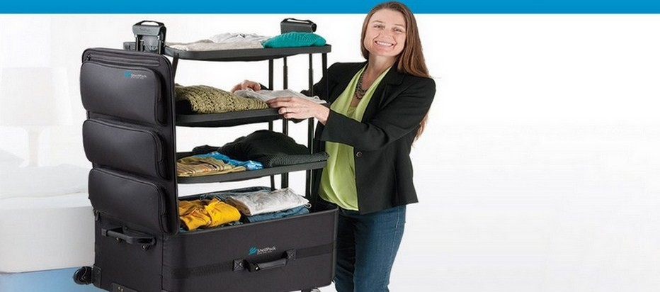 La valise ShelfPack pour rester organisé(e) ! (Crédit photo DR)