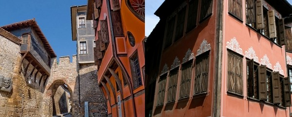 Immenses maisons de Maîtres et de Riches Marchands du Vieux Plovdiv... © www.bulgariatravel.org