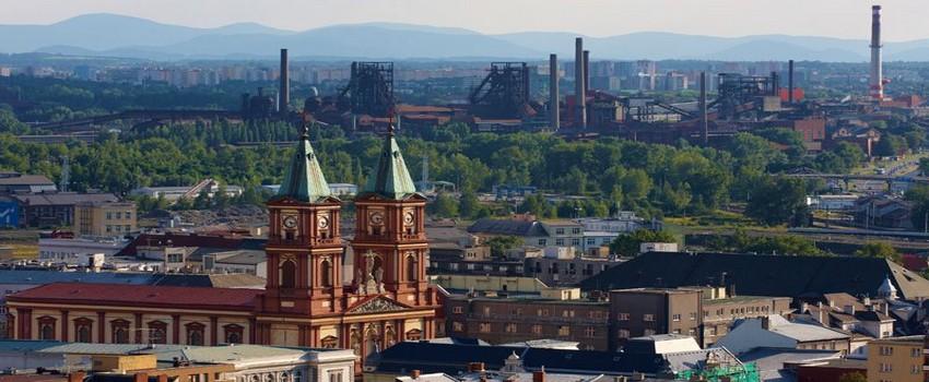 Capitale de la Moravie du Nord, Ostrava s'impose avec son aéroport international comme la troisième grande ville du pays.  ©  www.czechtourism.com/fr