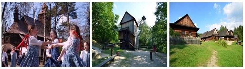 Rožnov pod Radhoštěm est le plus ancien et le plus grand écomusée d'Europe centrale. Il valorise les métiers traditionnels oubliés, l'art populaire et reconstitue la vie sociale des habitants de Valachie. © David Raynal