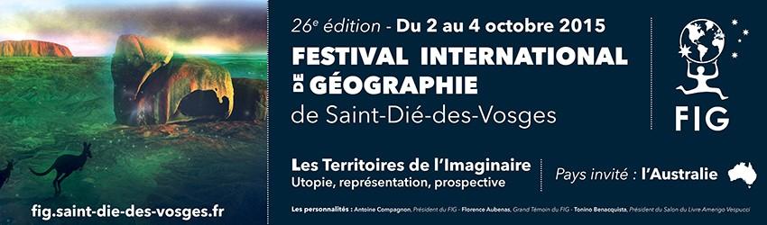 FIG 2015 : Tonino Benacquista président du salon du livre Amerigo Vespucci