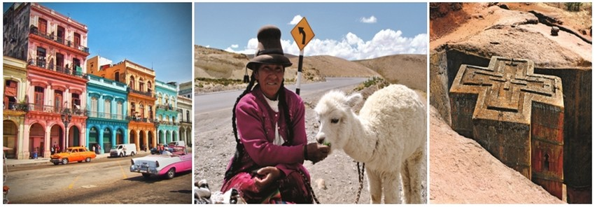 Le Club Med propose pour cet hiver 16 nouvelles destinations                                avec notamment Cuba, le Pérou et les vallées andines, l'Inde du Nord au Sud, l'Argentine version Patagonie, l'Ethiopie et les trésors cachés d'Abyssinie… © DR.