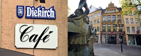 Dans la zone piétonne du centre-ville, la Grand'Rue et la rue Philippe II rassemblent les plus grandes marques de la couture et du prêt à porter  © David Raynal