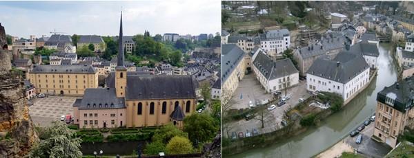 La ville de Luxembourg a toujours su rester une métropole aux dimensions humaines. (© David Raynal et ONT Luxembourg).