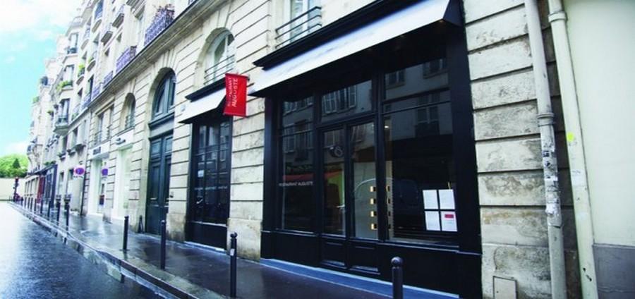 """A deux pas de la Tour Eiffel , dans le 7ème arrondissement de Paris,venez découvrir  la cuisine très inventive de Gaël Orieux dans son restaurant L' """" Auguste """"  © DR"""