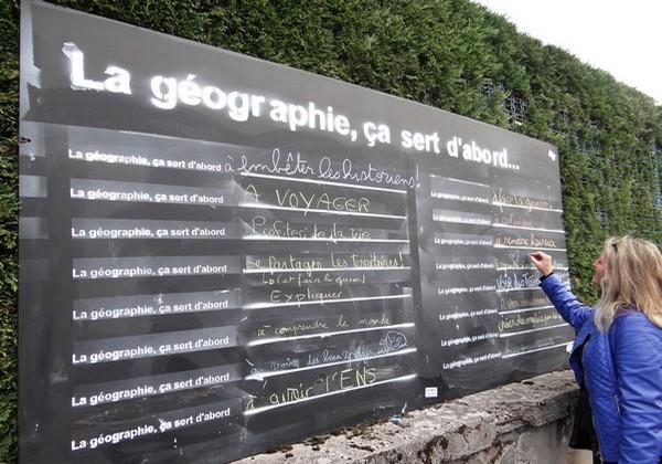 La géographie à Saint-Dié-des-Vosges se veut également ouverte au grand public. © Bertrand Munier