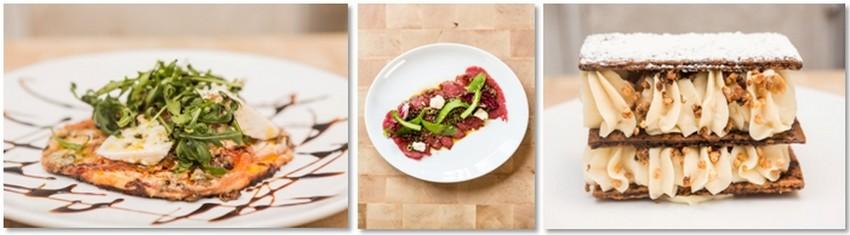 Arnaud Brière , le chef cuisinier  du Blanc Bec préfère travailler en direct avec les producteurs même si c'est parfois contraignant côté quantités, adaptant sa carte aux disponibilités. © DR