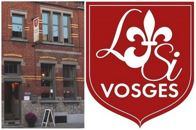 Logo et magasin montois Lysivosges