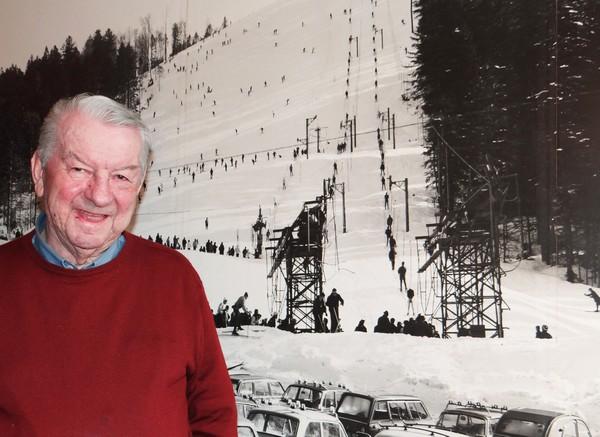 Jean-Marie Remy : un Vosgien visionnaire des sports d'hiver français. ©Bertrand Munier